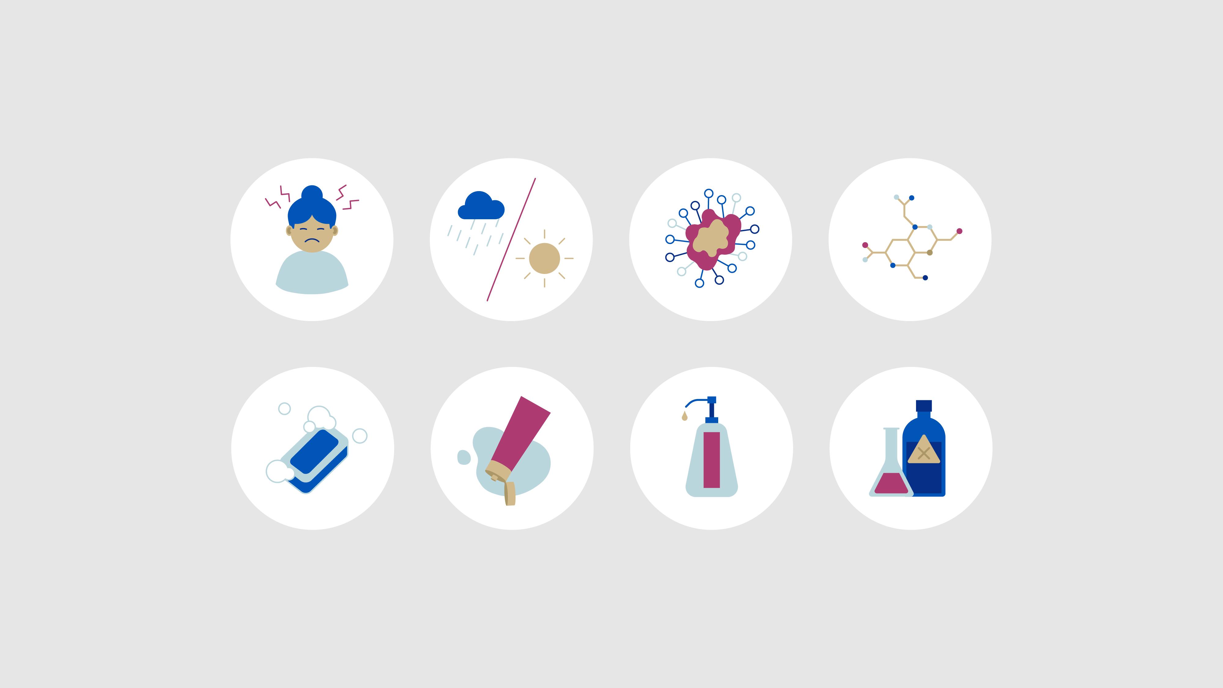 medline restore glove animation icon illustrations